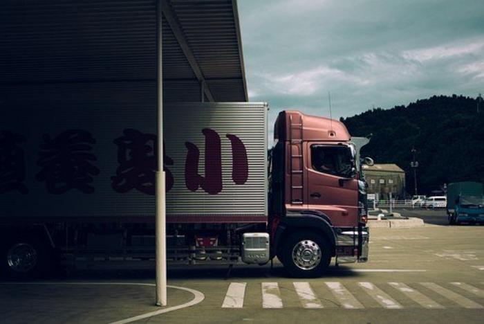 Camion, De Transport, Logistique