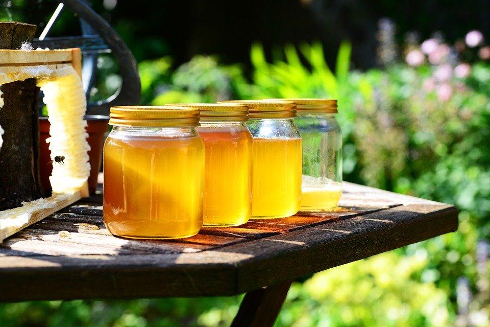 Miel, Bocaux, Récolte, Les Abeilles, Cadre, Jardin