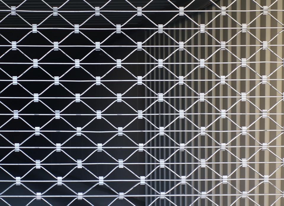 Grille métallique