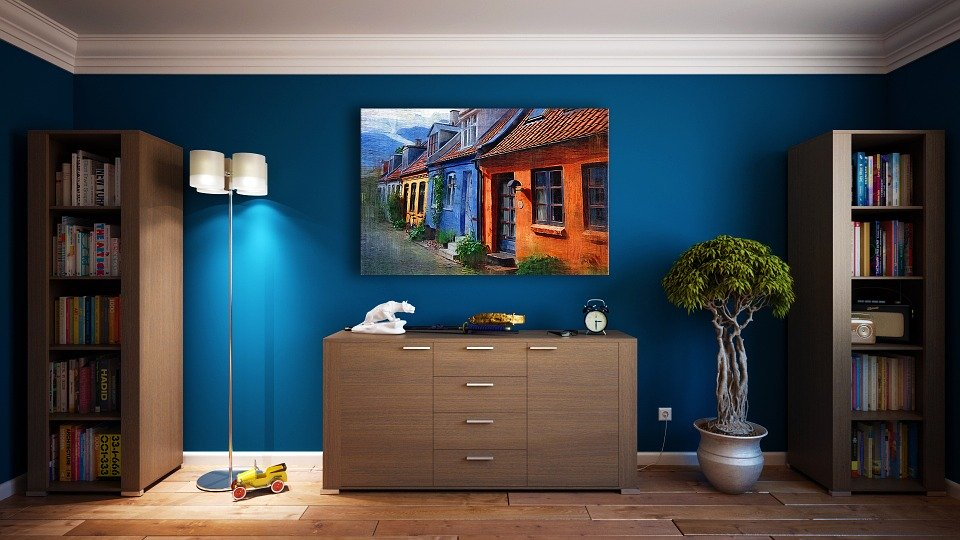 Mur, Meubles, Design, Appartement, Chambre