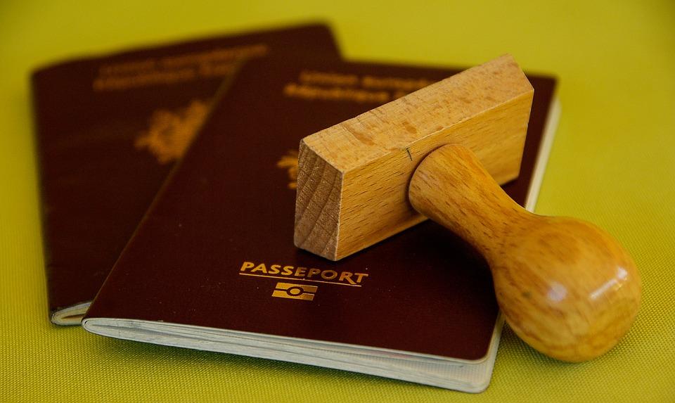 Tampon, Passeport, Voyage, Frontières, Douanes