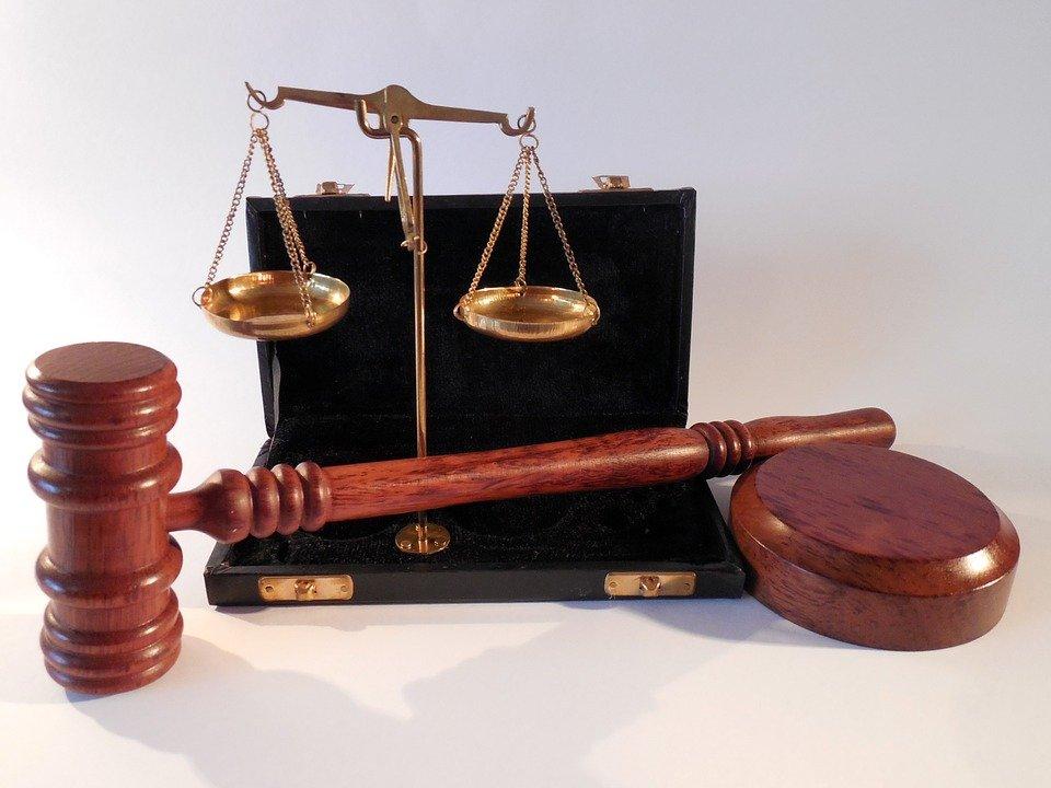Hammer, Horizontale, Tribunal, Justice, Droit