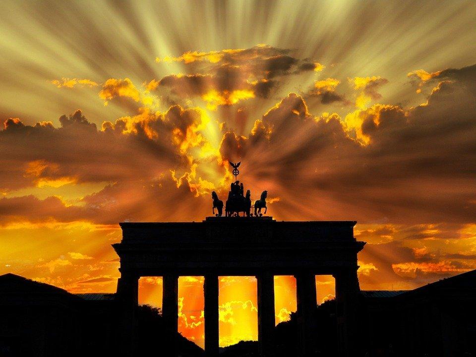 Brandenburger Tor, Crépuscule, Lever Du Soleil