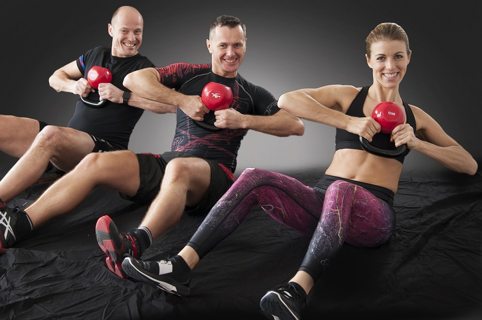 Kettlebell, Fitness, Crossfit, Ajuster, Exercice
