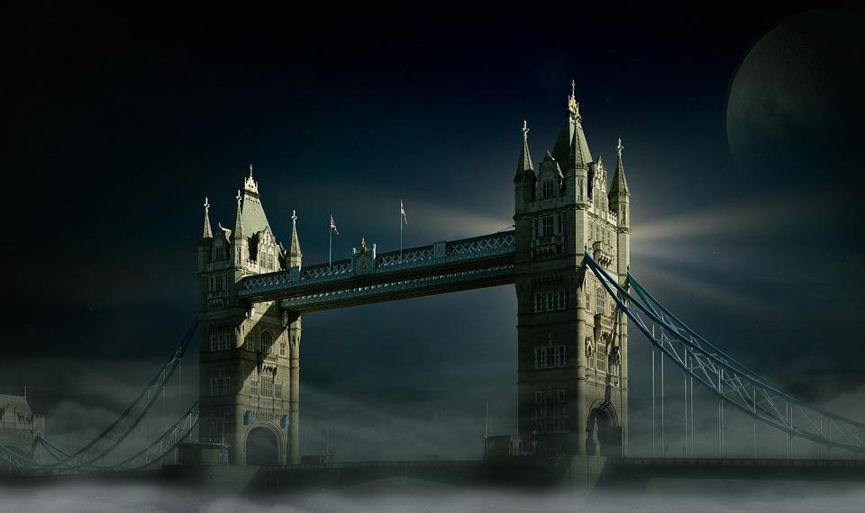 Tower Bridge, Londres, Pont, Historiquement, Angleterre