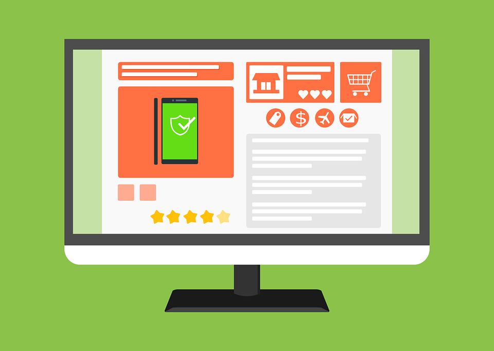 Site E Commerce, Boutique En Ligne, Web, Modèle