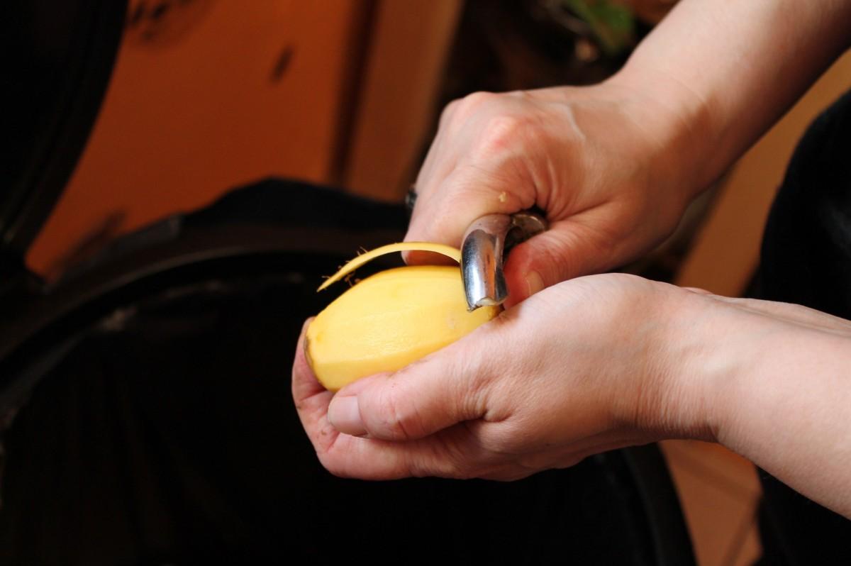 Préparer du Knodel aux pommes de terre