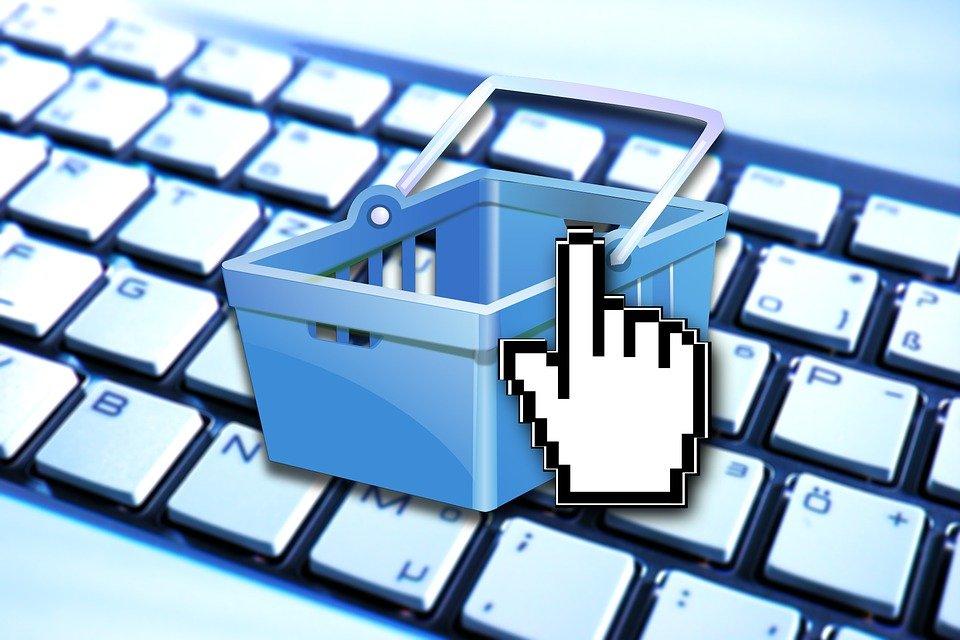 E Commerce, Panier D'Achat, Shopping, Affaires